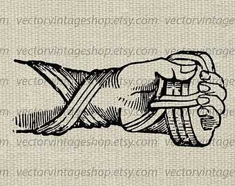 Glove clipart victorian Vector victorian Download illustration Ancient