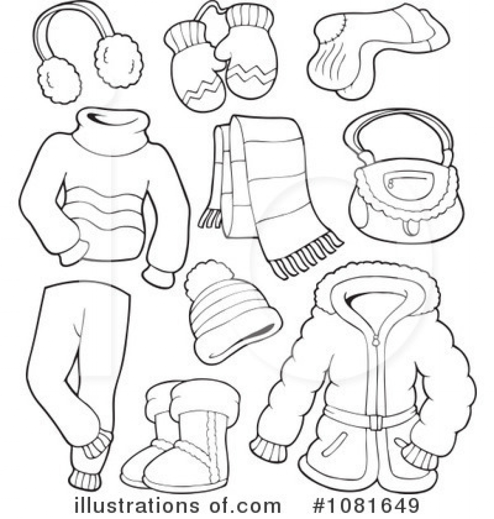 Winter clipart winter wear Clipart 101 Clip Clothes –