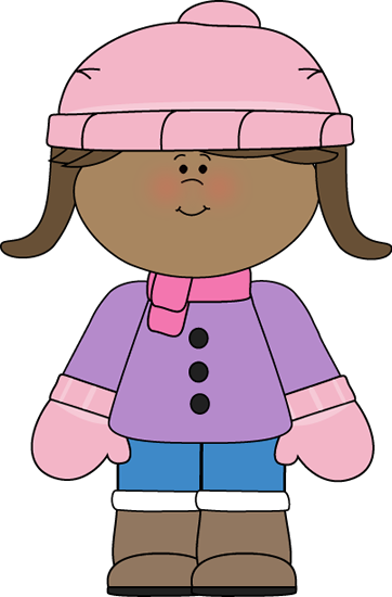 Winter clipart cold child Winter · Cold Gloves Scarf