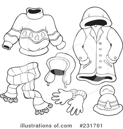 Winter clipart winter outfit Clipart rf Realated to clip