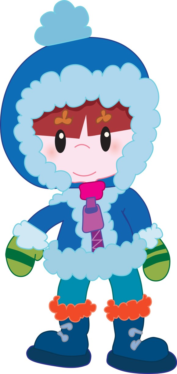 Warmth clipart winter weather Free Art Clothes Weather Clip
