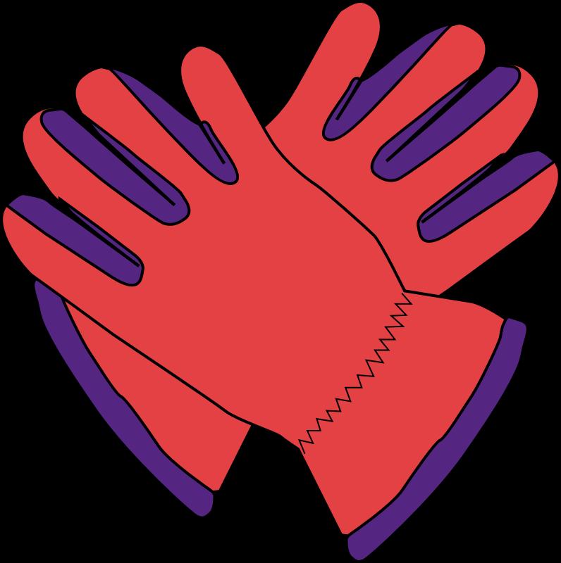 Glove clipart work glove (PNG) gloves Clipart MEDIUM IMAGE