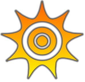 Glow clipart Sun Art Clip com