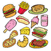 Food clipart different food #1