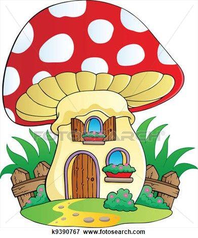 Gnome clipart animated Illustration View Pinterest mushroom on