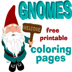 Gnome clipart animated If for Gnomes If coloring