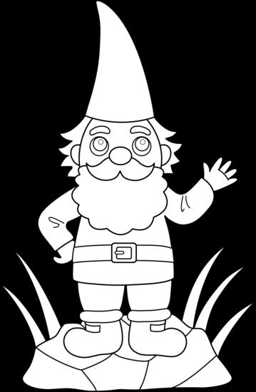 Dwarf clipart garden gnome Art Clip Clip Art Free