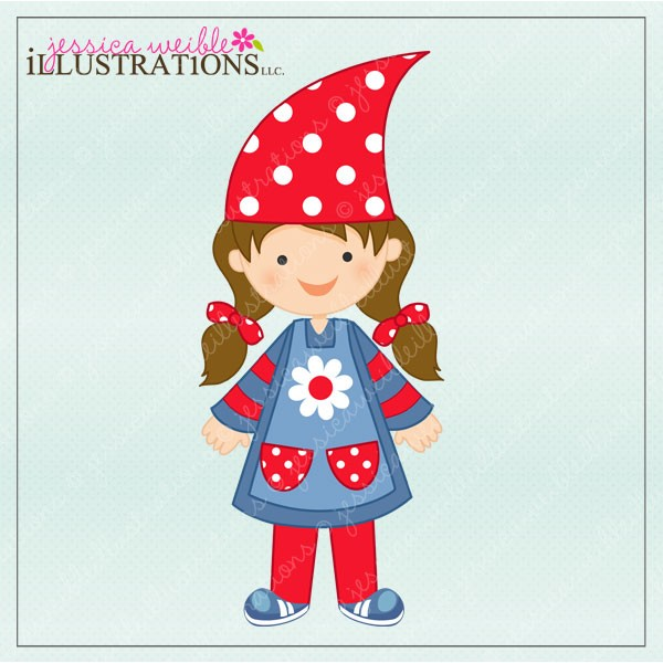 Gnome clipart couple Gnome Gnome Girl Clipart cliparts