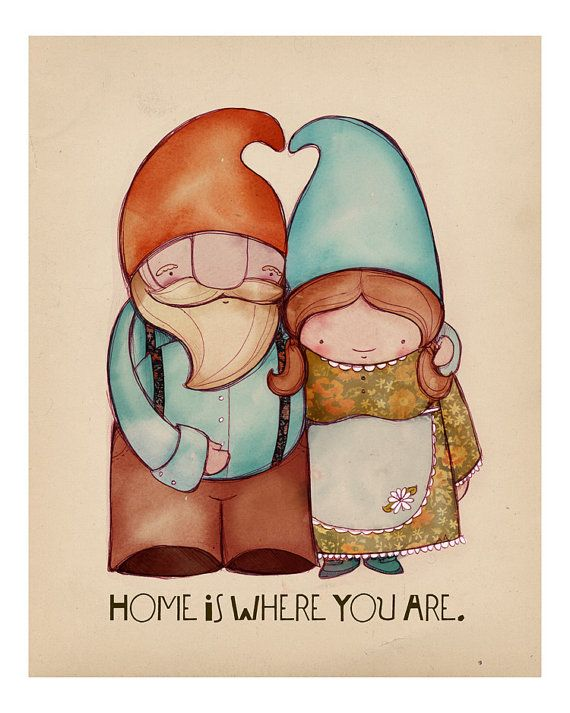 Gnome clipart couple Gnomes 1460 The images Pinterest