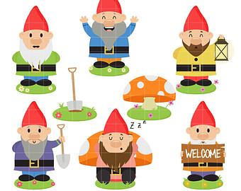 Gnome clipart garden gnome Clipart Drawn clipart  Clipart