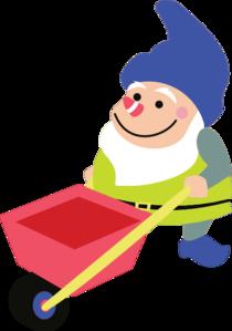 Gnome clipart garden gnome Luck Clip Luck vector Gnomes