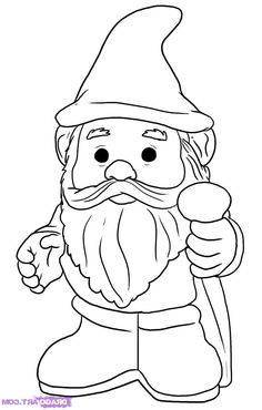 Gnome clipart head Colouring Mouse mouse mickey Pages