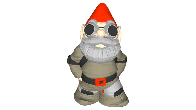 Gnome clipart lawn Warehouse 3D MakerBot 3D Large