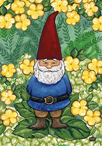 Gnome clipart lawn Com 18 Flag Garden Amazon