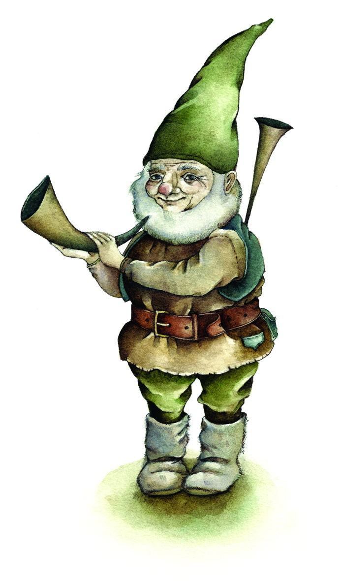 Gnome clipart lawn  by on and CLIP