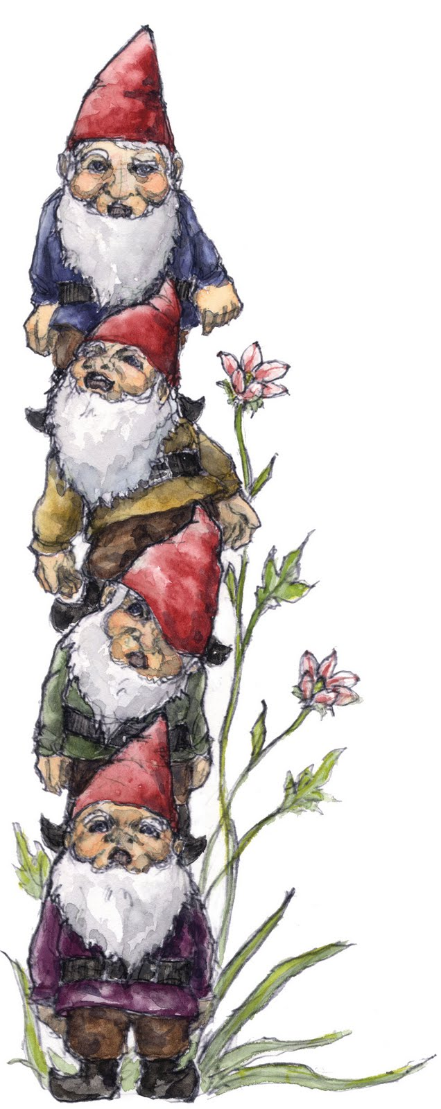 Gnome clipart lawn Gnome goat's (you ones Garden