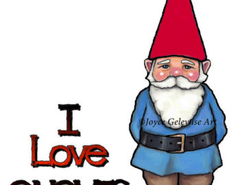 Gnome clipart love Gnomes Commercial – Clipart nisse
