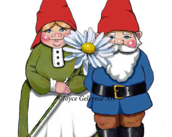 Gnome clipart love With Commercial Clipart Clipart OOAK