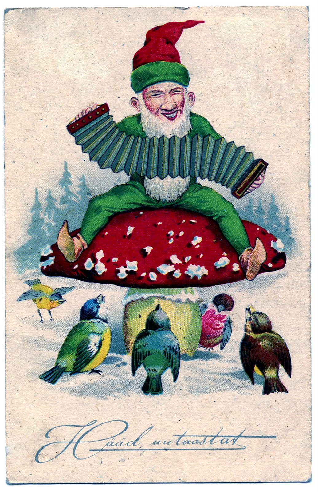Gnome clipart vintage + Clip Art Movie The