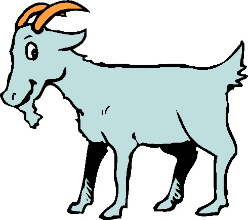 Mountain Goat clipart baby goat #6