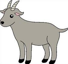 Goat clipart Clipartix clipart vector Free goat