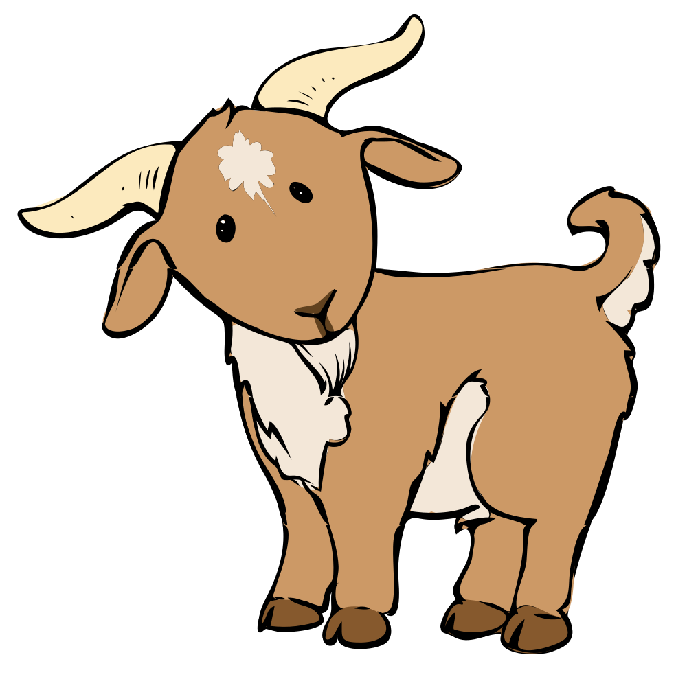 Mountain Goat clipart kid goat #1