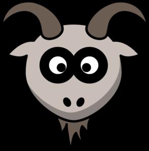 Goats Head clipart  at Clker Head com