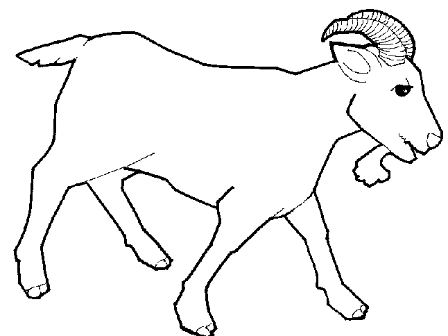 Black & White clipart goat Panda Free Images billy%20goat%20clipart Clipart