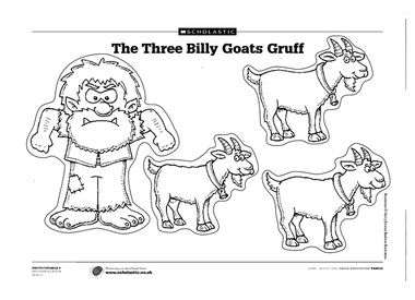 Billy Goat clipart colouring Collection Gruff Goat Billy Clip