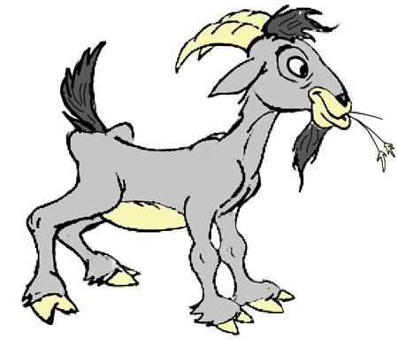 Billy Goat clipart line drawing Cartoon Goat Pinterest Goat Cartoon