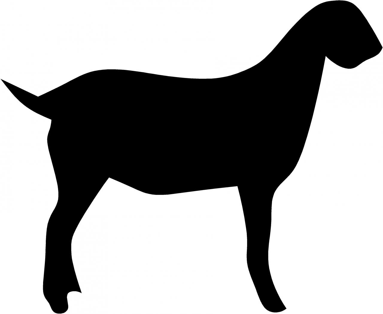 Billy Goat clipart nubian Clipart Panda Images Silhouette Clipart