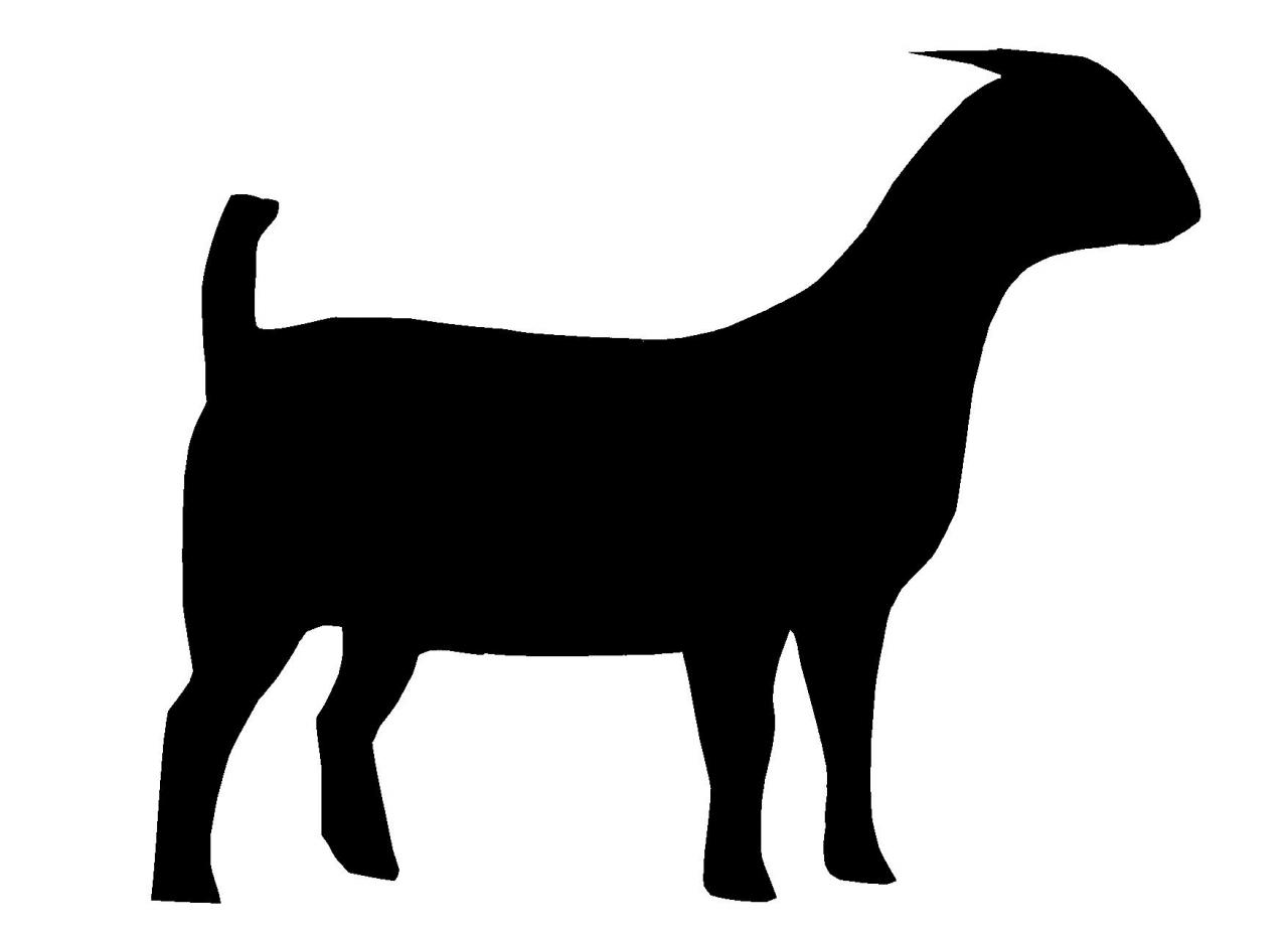 Boar clipart heraldic Clipart Free Goat Images Silhouette