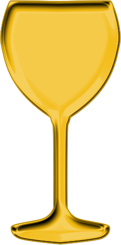 Goblet clipart Clipartcotttage Clipart Gold Png on