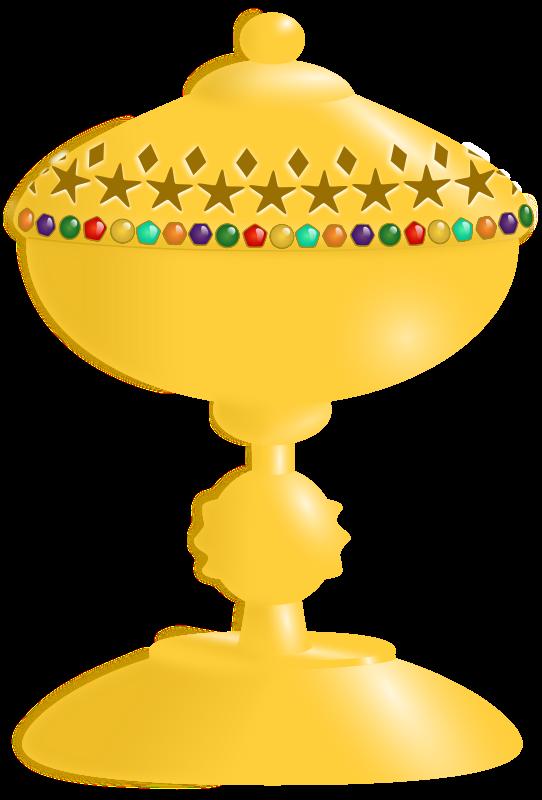 Goblet clipart Art Clip Golden Free Goblet