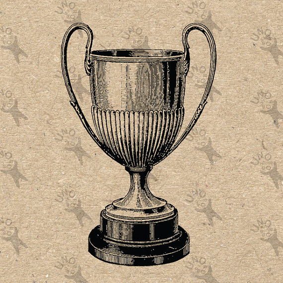 Goblet clipart vintage french Instant Retro Digital graphic Vintage