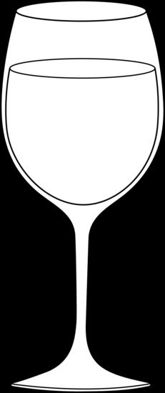 Goblet clipart wine glass #8