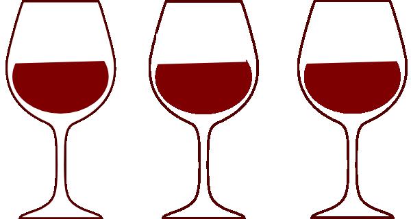 Goblet clipart wine glass #12