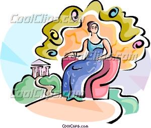 Goddess clipart cartoon  Goddess Clipart 300x256 Resolution