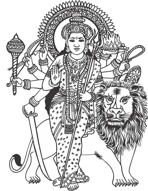 Gods clipart maa Kali Clip Art Download Clipart