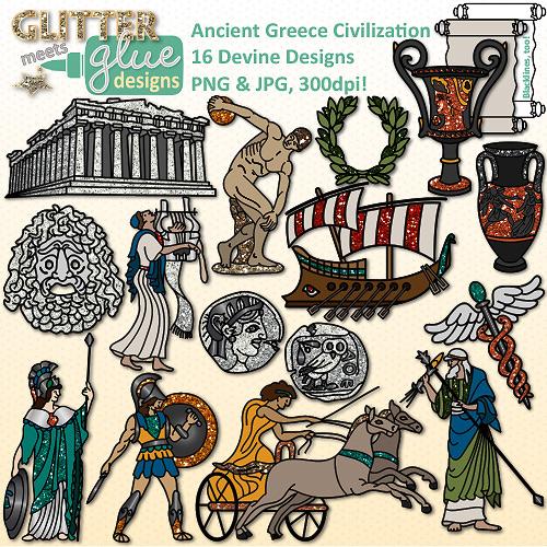 Greece clipart ancient history Greece  Clip Ancient Culture