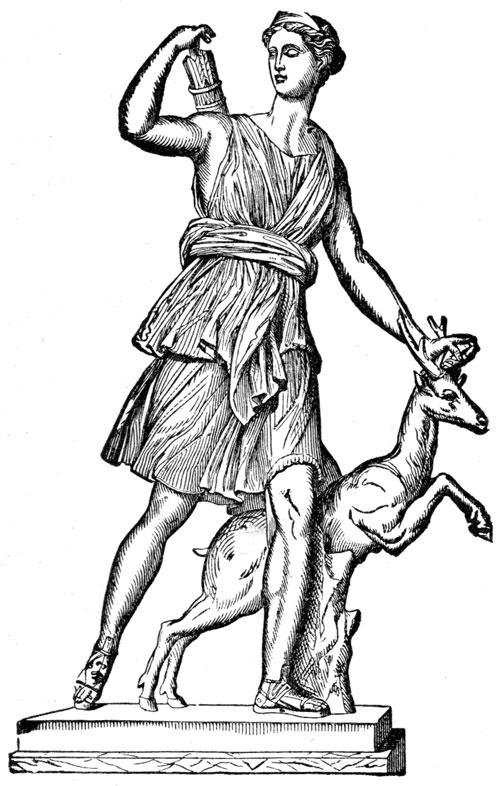 Mythology clipart artemis Greek and Gods Gods Greek