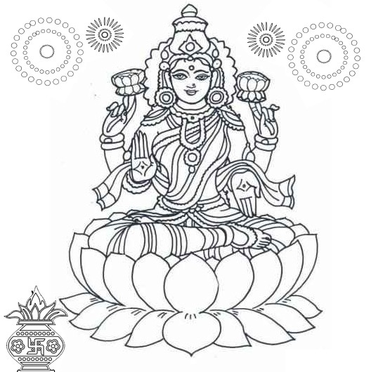 Goddess clipart black and white #13