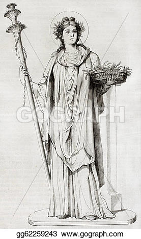 Goddess clipart ceres Roman museum Drawing Ceres xxxv