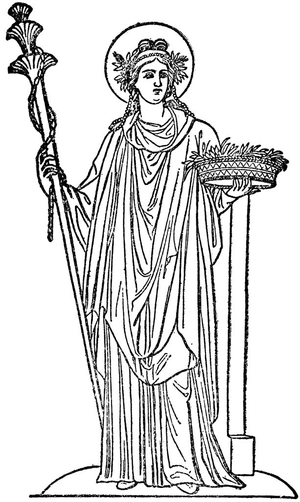 Gods clipart ceres Reapers best images of demeter
