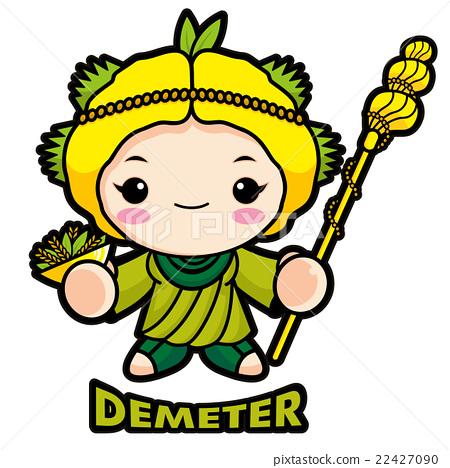 Goddess clipart ceres Mascot Agricultural Stock Ceres goddess