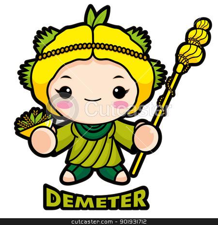Zeus clipart demeter Info Free Demeter goddess Clipart