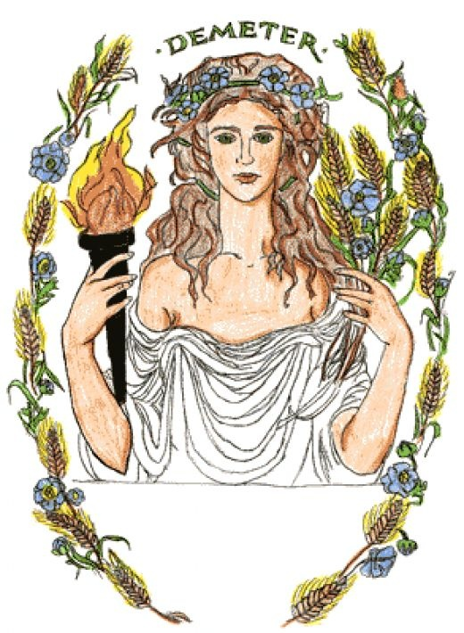 Zeus clipart demeter Demeter and on Goddess: Pinterest