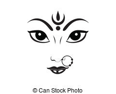 Gods clipart goddess durga Vector durga artistic artistic Clipart