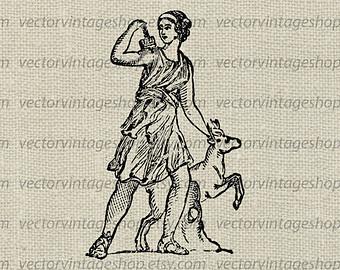 Goddess clipart diana roman Myth Artemis Clipart Goddess Ancient