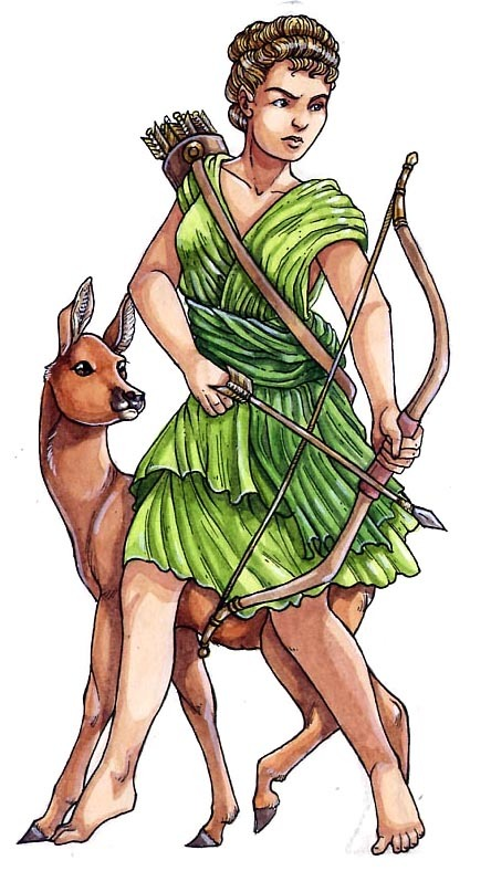 Goddess clipart diana roman Altes Diana Rom and Altes